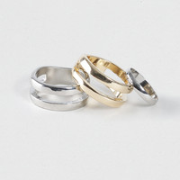 Split Band Multi Ring Pack*