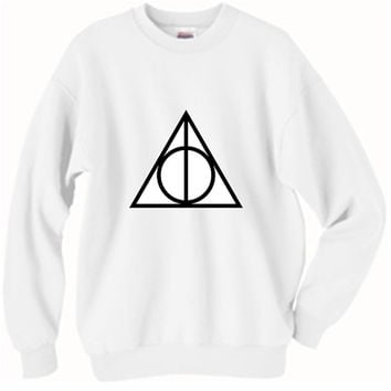 Harry Potter and the Deathly Hallows Oversized Sweater