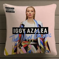 Iggy Azalea cover album Square Pillow Case Custom Zippered Pillow Case one side and two side