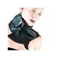 Rider leather scarf
