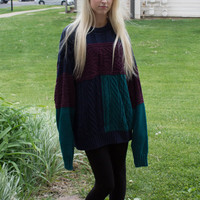 Vintage Hipster Sweater! Womens Size Medium