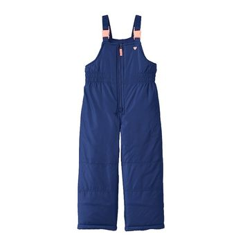 Carter's Solid Bib Snow Pants - Girls