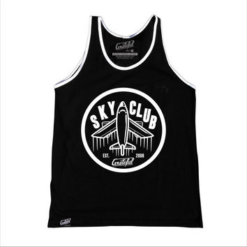 Sky Club / Sky Bound Trim Tank - Black