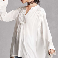 Oversized Woven Top