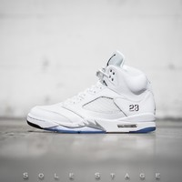 Best Deal Online Air Jordan 5 Retro Metallic Silver