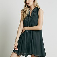 Free People Womens Catch The Sun Solid Dress