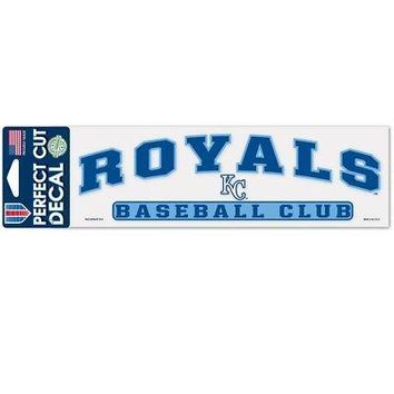 """Licensed Kansas City Royals Official MLB 3""""x10"""" Perfect Cut Car Decal by Wincraft 321725 KO_19_1"""