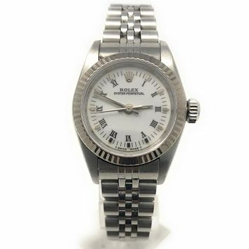 Rolex Oyster Perpetual swiss-automatic womens Watch 67194 (Certified Pre-owned)