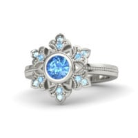 Elsa Engagement Ring (Disney's Frozen)