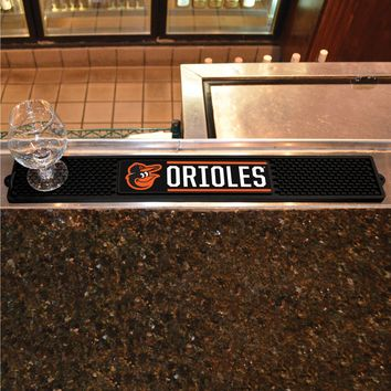 "MLB - Baltimore Orioles Drink Mat 3.25""x24"""