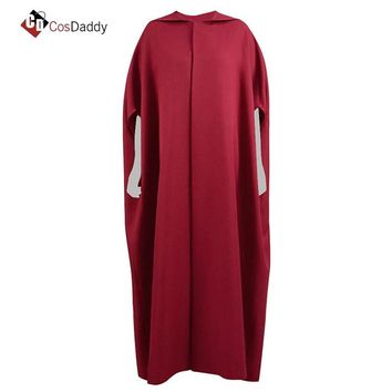 The Handmaid Tale Cosplay Costume Cloak Gown Elisabeth Moss June Osborne Offred Trench CosDaddy