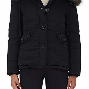 Moncler Malus Fur-Trimmed Down Jacket