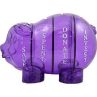 Amazon.com: Money Savvy Pig - Purple: Toys & Games