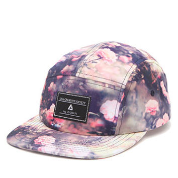 Lira Roses 5 Panel Hat - Mens Backpack - Natural - One