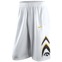 Nike Iowa Hawkeyes Replica Basketball Short - White