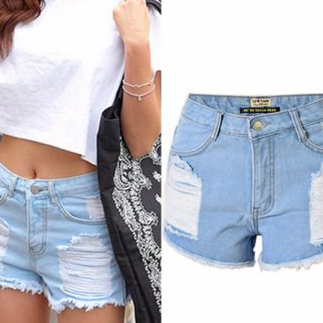 Stylish Rip Cool Casual Shorts