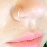Steel Bendable Nose Hoop Surgical Steel Body Jewelry Piercing Jewelry 20ga