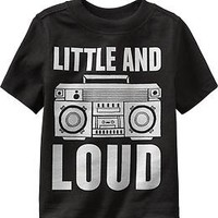 """Little and Loud"" Tees for Baby"