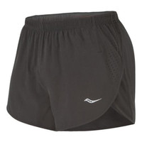 Saucony Mens Polyester Internal Liner Shorts