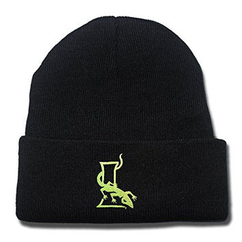 JIAQ New York Lizards MLS Beanie Unisex Embroidery Skullies Knitted Hats Caps