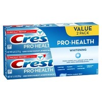 Crest Pro-Health Whitening Fresh Clean Mint Flavor Toothpaste Twin Pack - 12 oz