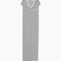 Long striped dress