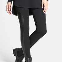 Women's Nordstrom Quilted Panel Ponte Leggings