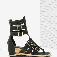 Jeffrey CampbellNador Leather Gladiator Sandals