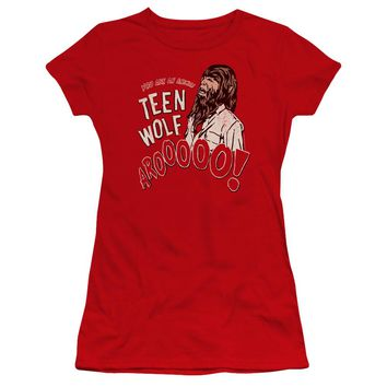 Teen Wolf - Animal Premium Bella Junior Sheer Jersey Shirt Officially Licensed T-Shirt