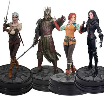 The Witcher 3 Anime Figure Wild Hunt: King Eredin Ciri Triss Merigold Figure Dark Horse Yennefer Pvc Game Collection Model Toy