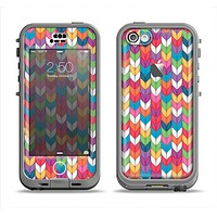 The Color Knitted Apple iPhone 5c LifeProof Nuud Case Skin Set