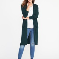 Open-Front Super-Long Sweater for Women | Old Navy