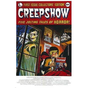 CLASSIC CREEPSHOW MAGAZINE FIRST EDITION POSTER scary skeleton 24X36  --YW9