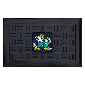 Notre Dame Fighting Irish NCAA Vinyl Doormat (19x30)