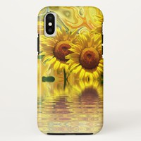 Awesome Sunflower Design iPhone X Case