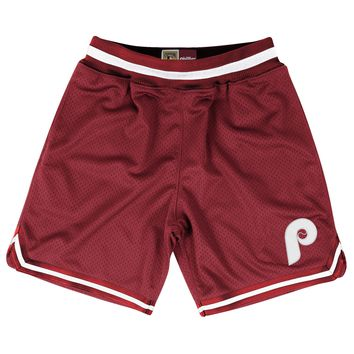 Mitchell & Ness Philadelphia Phillies Playoff Win Shorts