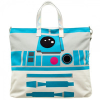 Star Wars R2D2 Oversized Jrs. Tote with C3PO Coin Pouch LT31M0STW