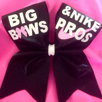 Cheer bow nike pros