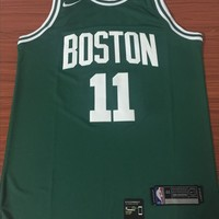 Boston Celtics #11 Kyrie Irving Green Swingman Jersey