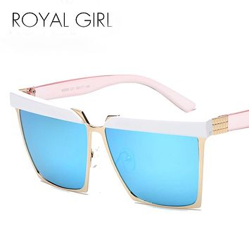 Royal Girl Designer Flat Top Shades