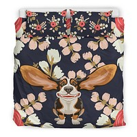Floral Hound Bedding Set