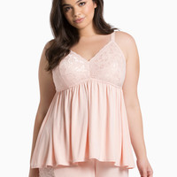 Sleep Lace Bust Babydoll