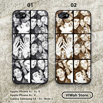 One Direction iPhone 5 Case,iPhone 5s Case,iPhone 5c Case, One Direction Mono Photo Hard Case or Rubber Case cover for iphone 5/5s/5c case