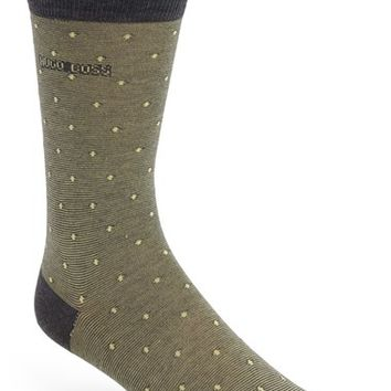 Men's BOSS Stripe & Dot Socks