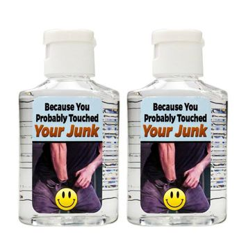 You Probably Touched Your Junk Hand Sanitizer Set