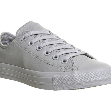 Converse All Star Low Leather Grey Mono Exclusive - Unisex Sports