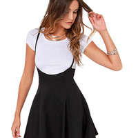 Short Sleeve A-line Mini Skater Dress
