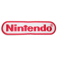 "Retro Gamer Nintendo Gaming Iron On Embroidered Patch 4.5""/12cm"