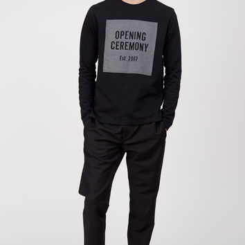 Opening Ceremony ASCII OC Logo Long-Sleeve Tee - MEN - Opening Ceremony - OPENING CEREMONY