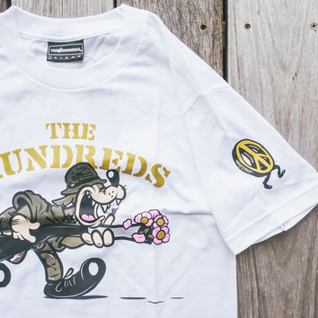 Hundreds Never Surrender T-Shirt - White